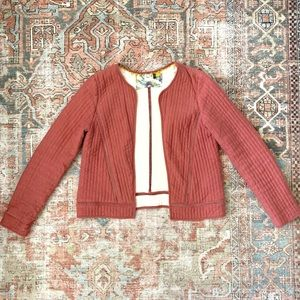 Anthropologie Akemi Kin Quilted Jacket Pink Small